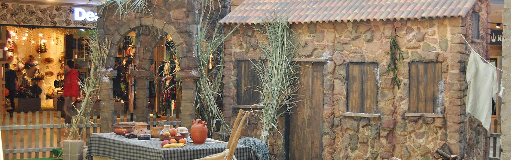 Construcci n decorados porex aplicaci n comercial en for Empresas de construccion en barcelona
